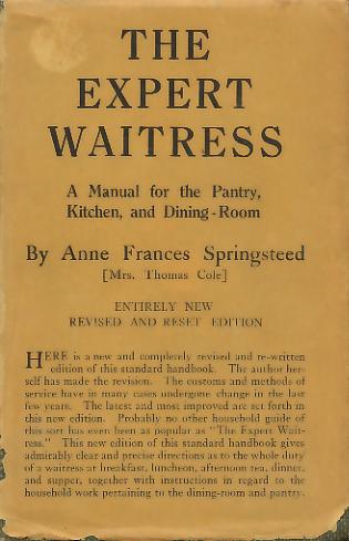The Expert Waitress