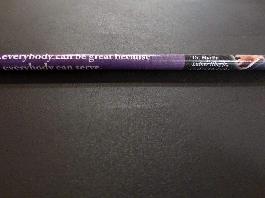 Black History Month pencil