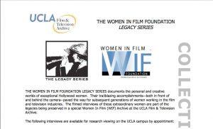 Women In Film_Study Guide
